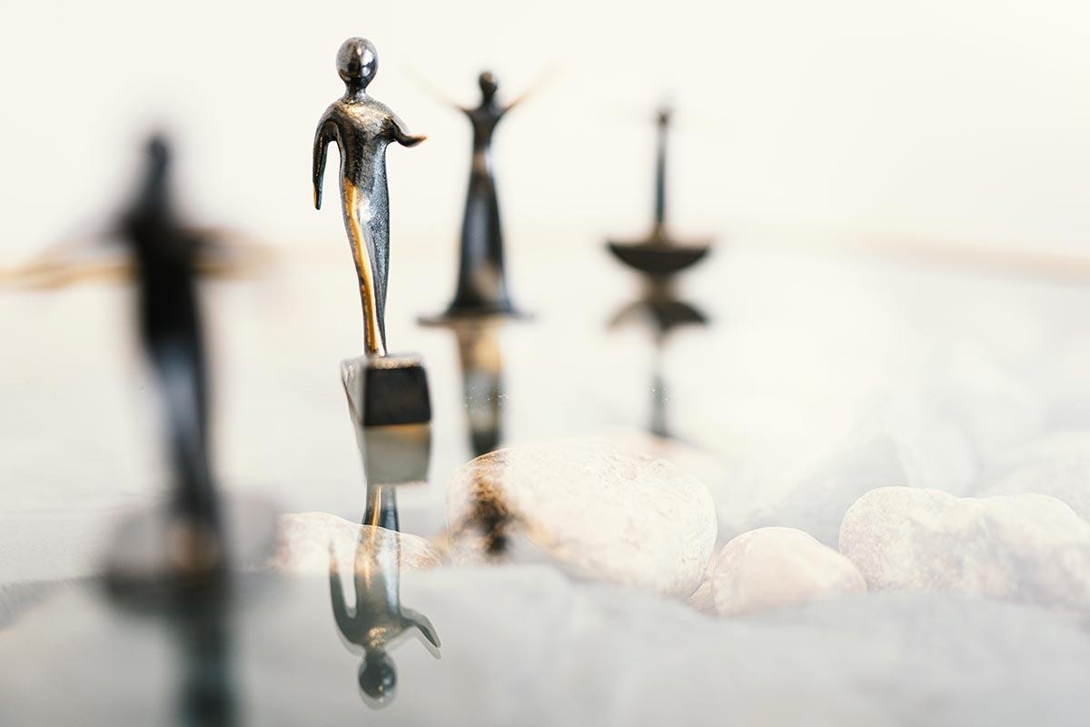 KJPP Praxis Gabriele Griep - symbolische Figuren